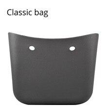 Nowa klasyczna duża torba z EVA Body torebki damskie modna torebka DIY wodoodporna torba w stylu Obag z gumy silikonowej O stylu torebki damskiej