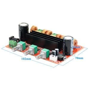 Image 4 - AIYIMA TPA3116 2.1 Digital Audio Amplifier Board TPA3116D2 Subwoofer Speaker Amplifiers DC12V 24V 2*50W+100W