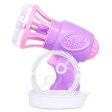 Пузырчатая игрушка воздуходувка игрушка для мыльных пузырей мультфильм подарок детская рука пузырчатая воздуходувка