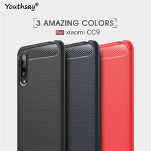 For Xiaomi Mi CC9 Case Soft Silicone Coque Fundas Phone Cover