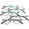 Nueva Edición También Incluidos Lang Fondo Miopía Montura de gafas Coreano Restaurar Maneras Antiguas Exceder Luz Gafas Pequeñas de Montura Redonda