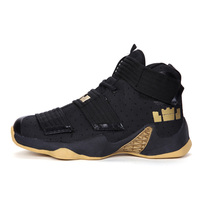 Super Light Men's Basketball Shoes Air Anti skid Training Basketball Sneakers Boys Breathable Cushioning Sports High Ankle Boots