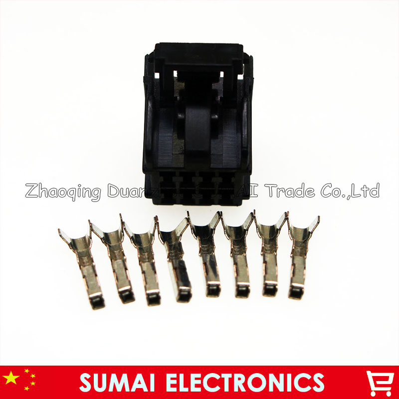8 Pin 1.2mm Female Automotive Window Lifter Assembly Plug Connector For Toyata,VW,Honda,BMW Etc.