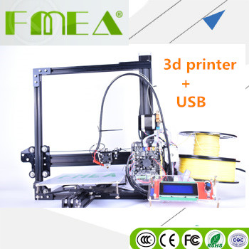 FMEA 3D Scheda di Controllo Della Stampante Metallo Cura Impostazione 3D Casa Stampante
