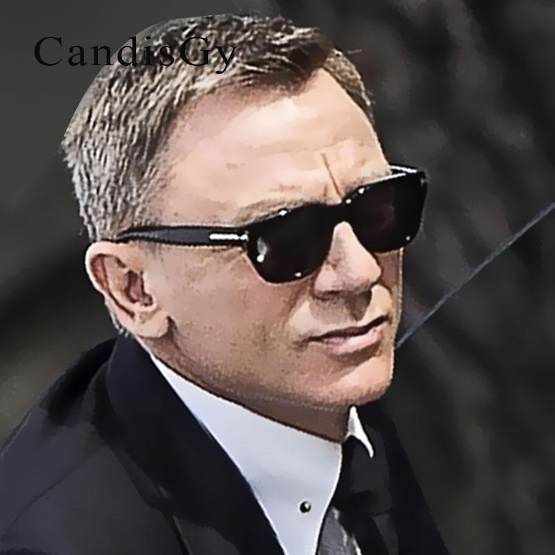 Square Sunglasses Men Women Super star Square James Bond ...