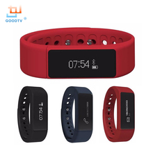 New I5 Plus Smart Bracelet Bluetooth 4.0 Waterproof Touch Screen Fitness Tracker Health Wristband Sleep Monitor Smart Watch
