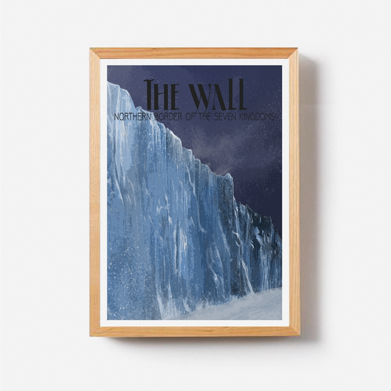 Game of Thrones Travel Painting Home Wall Decor