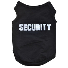 Security Letter Printed Dog Clothes
