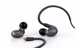 Image 5 - FiiO funda de Metal knozles F9Pro, auriculares HIFI híbridos con Triple controlador, 3,5mm/2,5 m, con micrófono y mando a distancia para teléfono móvil MP3