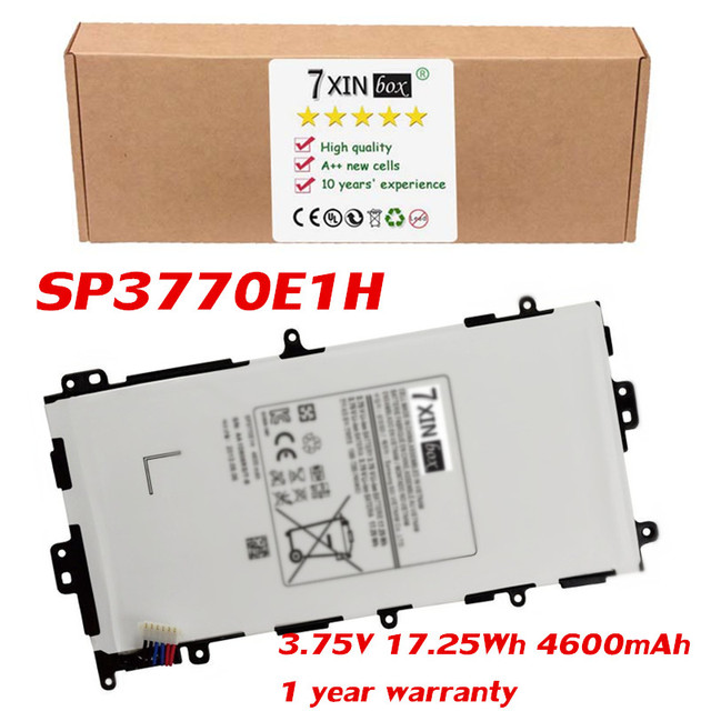 3.75V 17.25Wh 4600mAh SP3770E1H Battery For Samsung Galaxy Note 8.0 GT-N5110 N5100 Tablet