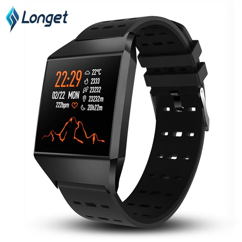 7567730a5d0b Cheap Longet pulsera inteligente W1C rastreador de Fitness banda Bluetooth  Monitor de sueño