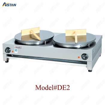 DE1/DE2 electric crepe maker cooker griddle machine for snack maker equipment 2
