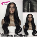 8A Body Wave Silk Base Full Lace Human Hair Wigs With Baby Hair Unprocessed Virgin Peruvian Glueless Silk Top Front Lace wigs
