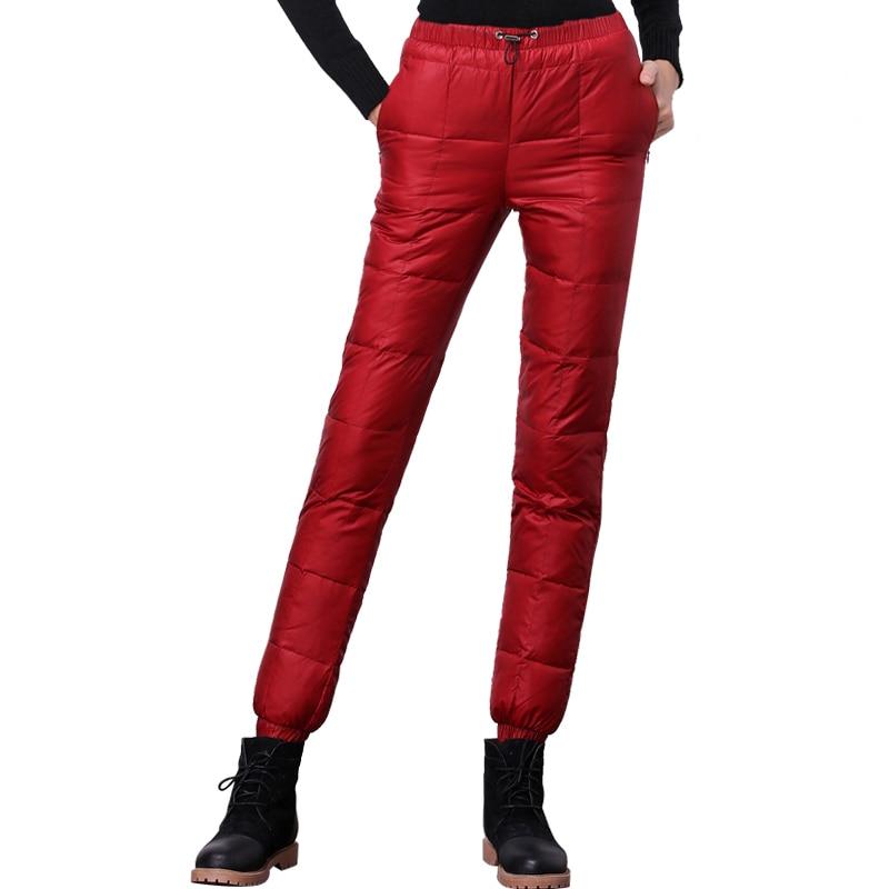 Aliexpress.com : Buy 2016 Winter down pants women casual ...
