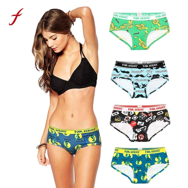 278c2dd95c31 New Fashion Sexy Ladies Casual Panties for women Hot Sale Lovers Sexy Women  Underwear Boxer Briefs Triangle Underpants lingerie