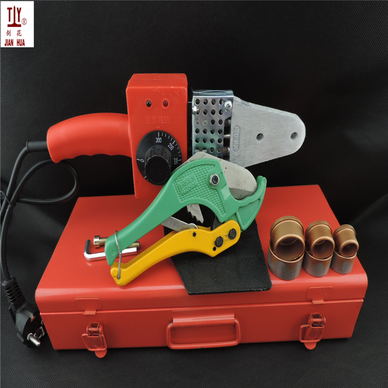 20-32mm 600W Temperature Controled Ppr-plastic Pipe Welder, With Metal Box And 42mm Pvc Tube Cutter PPR Welding Machine