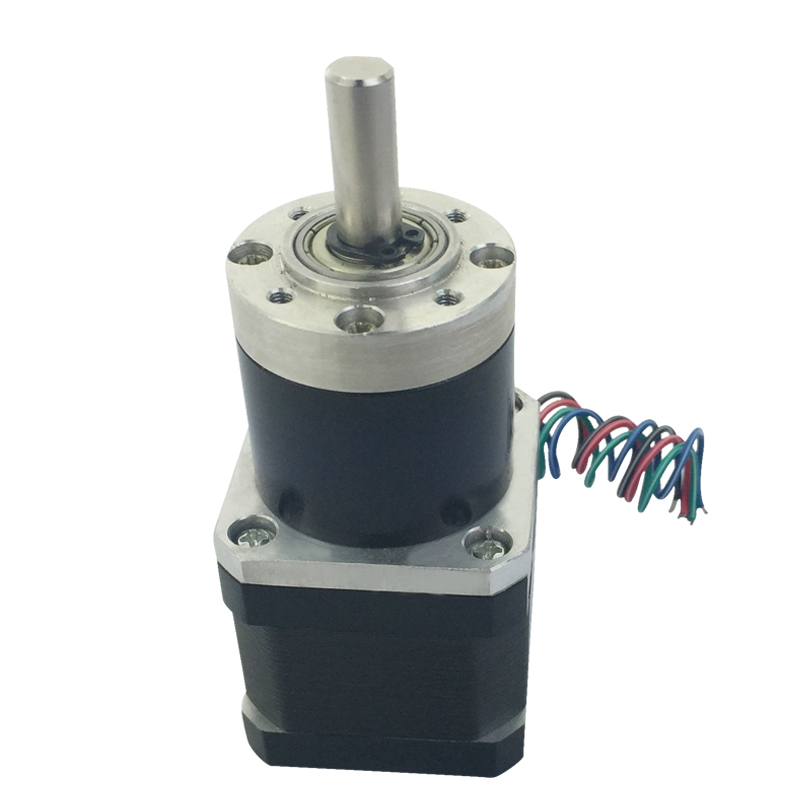 PG36-42BY Hybrid Planet Stepping Gear Motor 42 Stepper Motor Planetary Gear Motor nema23 geared stepping motor ratio 50 1 planetary gear stepper motor l76mm 3a 1 8nm 4leads for cnc router