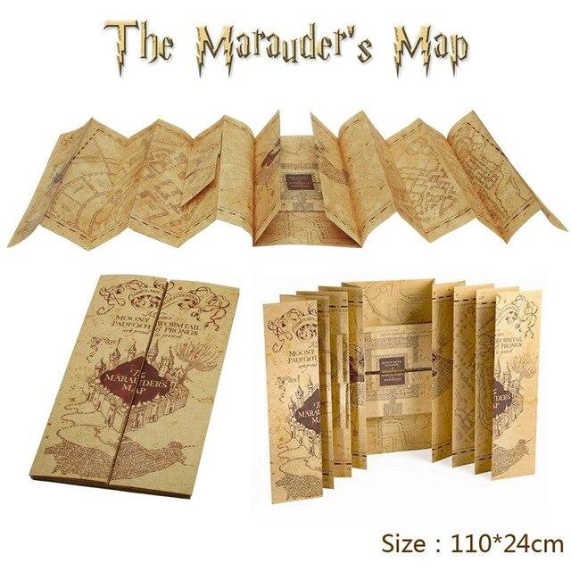Mapa Del Merodeador Comprar.Harry Potter Mapas Del Merodeador Mapas Poster Vintage Pared
