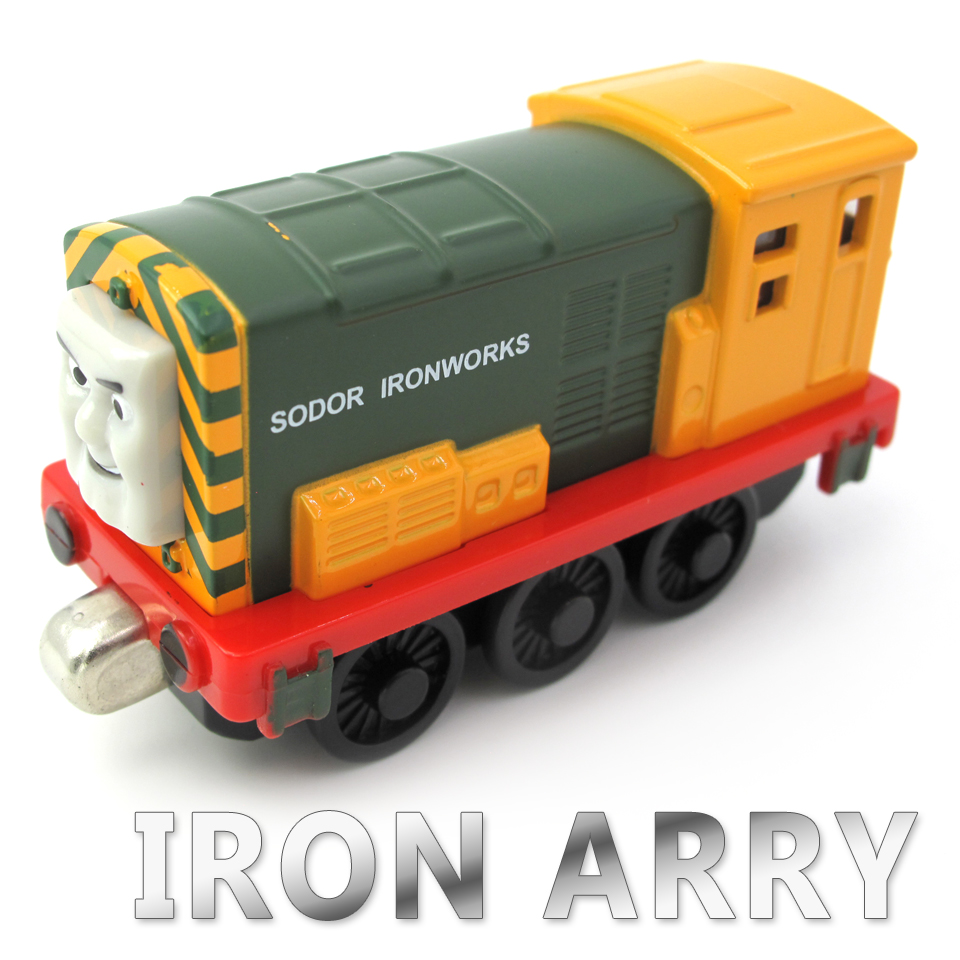 Diecasts Vehicles Thomas T072D IRON ARRY Thomas And Friends Magnetic Tomas Truck Locomotive Engine Railway Train Toys for Boys