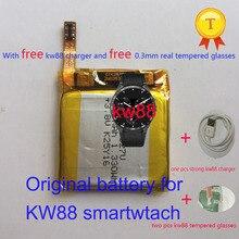 Dhl expédition! Original kw88 pro smartwatch montre intelligente phonewatch saat remplacement rechargeable 3.8 v horloge montre heure batterie