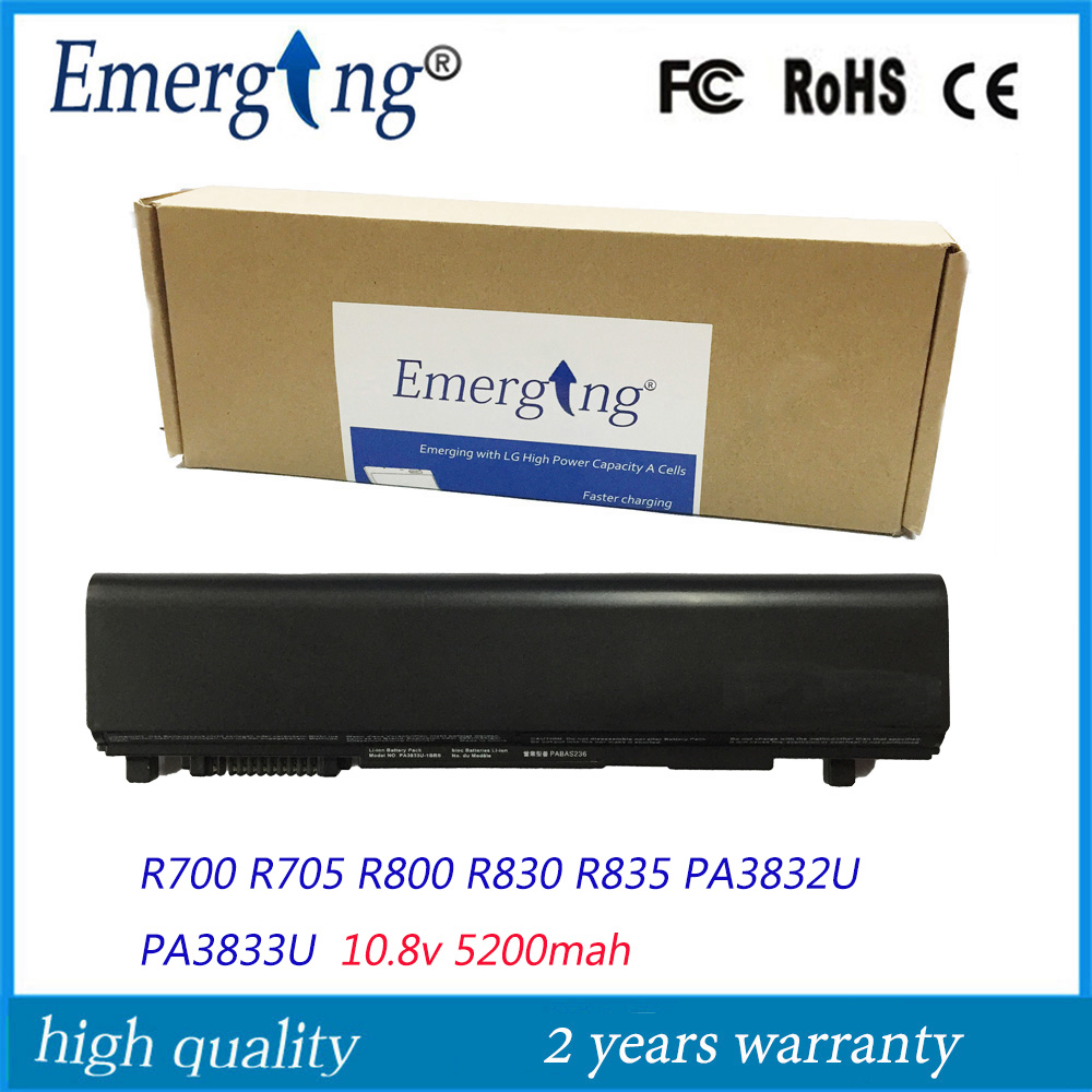 6cell 10.8V High Quality New Laptop Battery for Toshiba Portege R700 R705 R840 PA3832U-1BRS PA3833U PA3930U-1BRS6cell 10.8V High Quality New Laptop Battery for Toshiba Portege R700 R705 R840 PA3832U-1BRS PA3833U PA3930U-1BRS