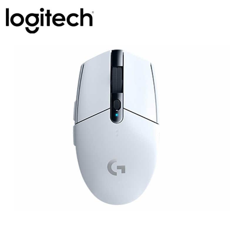 Original Logitech G304 Gaming Mouse Sem Fio 2.4G HERÓI Motor 5AA 12000DPI Bateria Para LOL PUBG Fortnite Overwatch CSGO