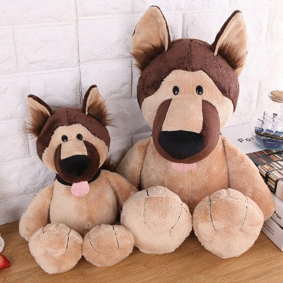 35cm 45cm Germany Nici Dog Police Dog Wolf Dog Plush Toy Children S
