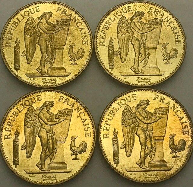 Frankreich 1882 1887 1889 1894 Eine Republique Francaise Liberte