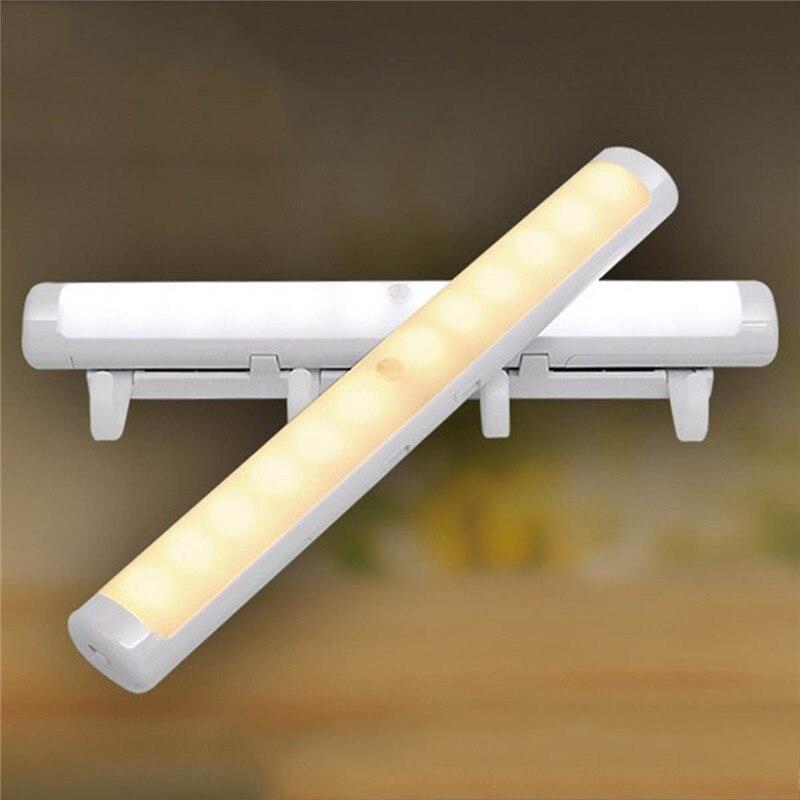 Novelty night lamp Motion Sensor Night Light Potable LED Closet Lights Wall Lamp Battery Powered Wireless Cabinet Leds Lamp