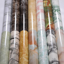 Marble stickers self-adhesive wallpaper furniture renovation wall stove countertop cabinet window sill waterproof oil