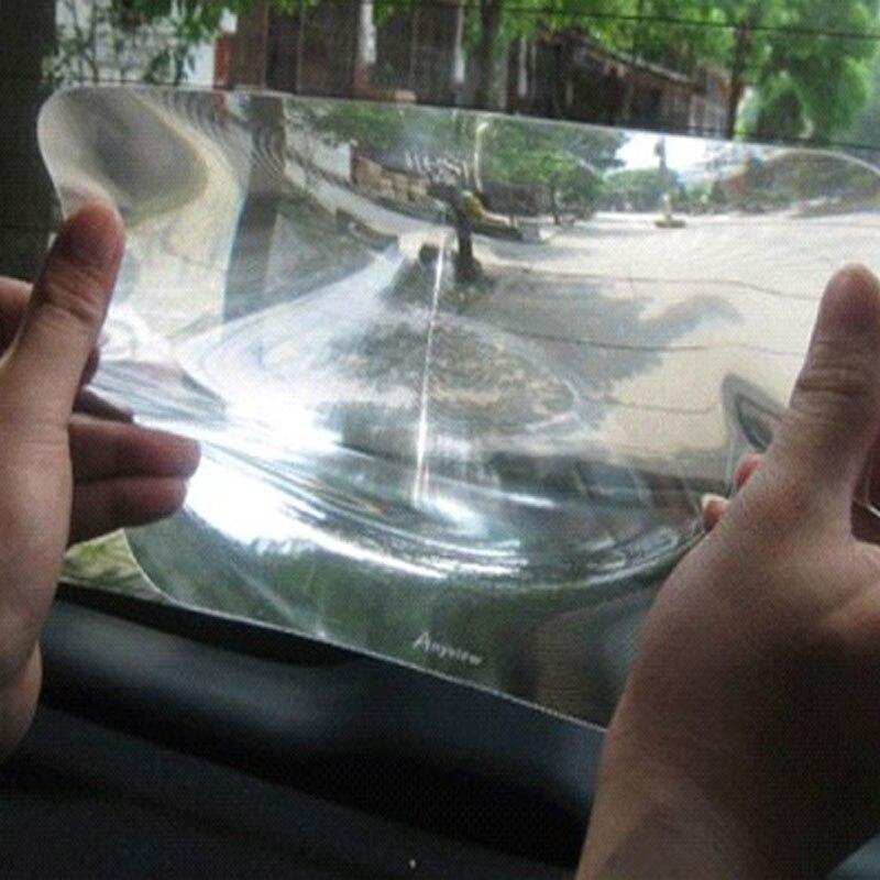 Vehemo 25x20 cm Grand Angle lentille de fresnel Auto voiture Arrière Fenêtre Parking Inverser lentille de fresnel Autocollant Autocollant De Voiture
