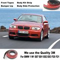 For BMW 1 M1 E87 E81 E82 E83 F20 F21 Bumper Lip / Front Spoiler Deflector For Car View Tuning / Body Kit / Strip Skirt Stickers