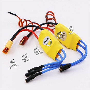 Aerops XXD30A 30A Brushless ESC for Brushless Motor Assemble F330 F450 F550 Su27 Airplane Quadcopter Multirotor Parts 2212 920kv brushless motor cw for phantom f330 f450 f550 x525