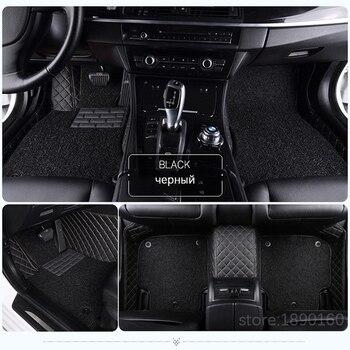 Custom car floor mats for Jeep Grand Cherokee Wrangler Patriot Cherokee Compass commander car accessories auto Stickers