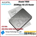 Free Shipping  New Original Unlocked Cat6 300Mbps Alcatel Y900 LTE 4G WiFi Router With Sim Card Slot And 4G Mobile WiFi Routers