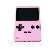 New Melhor presente portátil handheld game console com 200 jogos de console 2.8 TV de tela TFT (Rosa)