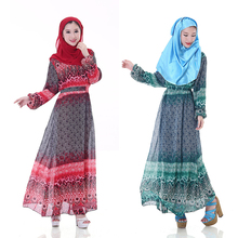 Fashion Adult Casual Acetate Robe Musulmane Turkish Abaya New Muslim Dress Chiffon Robes Arab Clothing for women