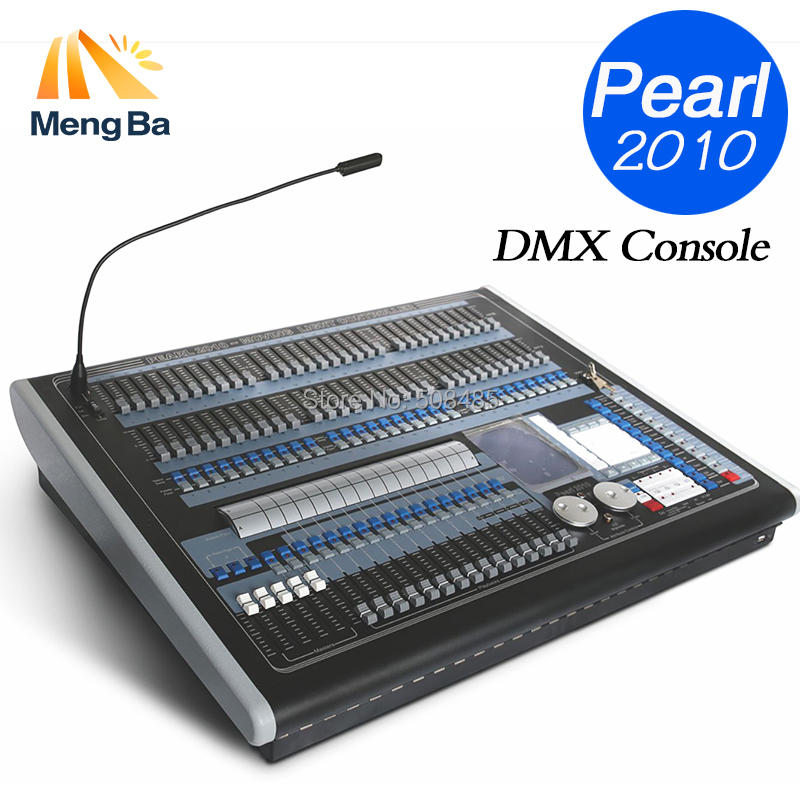 Good quality Pearl 2010 DMX Console Lighting Controller For Stage Lighting DJ Led Par Stage Light equipment with Flight Case 2pcs high quality 512 dmx console stage light equipment 192 dmx controller for stage lighting led par beam lights page 3