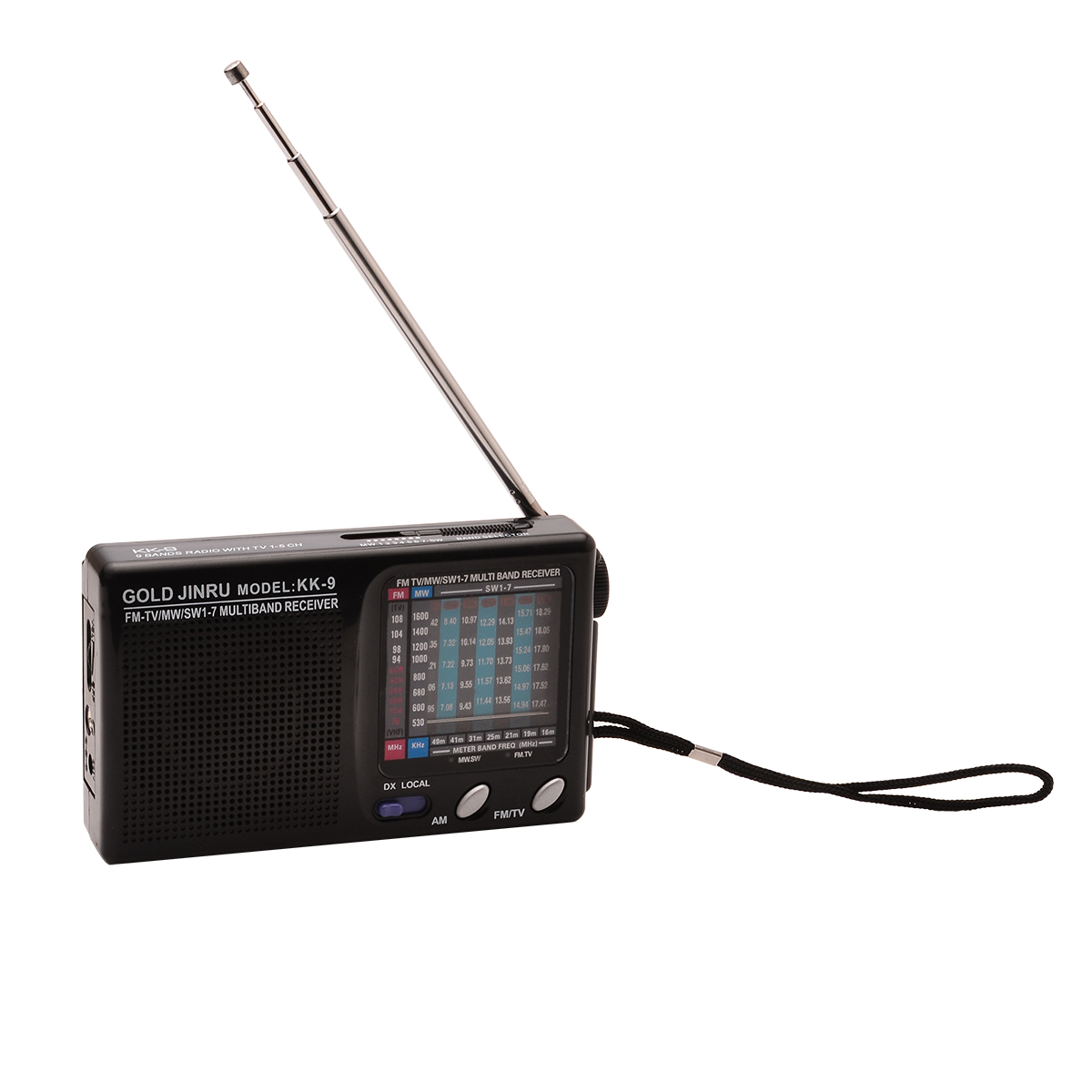 New Arrival 1pc Portable Full World Band Radio Mono Channel Dsp Fm Am Receiver Simple Circuit Pc Stereo Mw