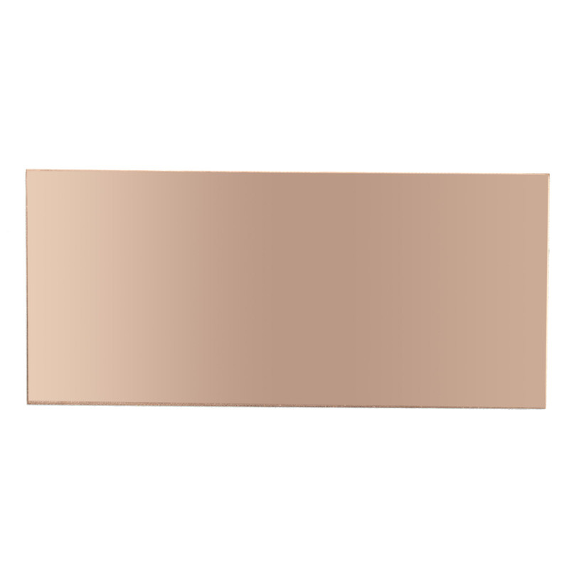 1PC 100x220x1.5mm Double Sided Copper Clad Plate PCB Circuit Board FR4 Laminate Brand new durable in use Best Promotion universal single sided pcb copper clad board for diy 10 piece pack