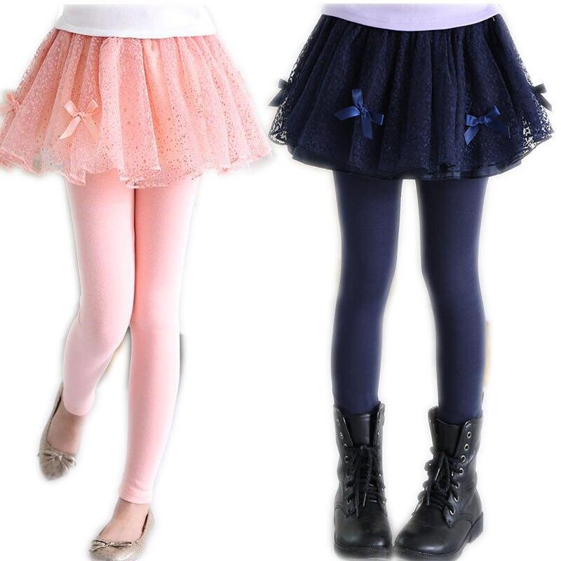 Ywstt Children spring skirts leggings girls skirt pants kids cake skirts pantsTutu baby pants ...