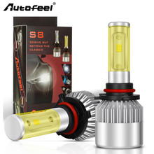 Autofeel Car Headlight CSP 168W 8000LM H4 Led Bulb H1 H7 H11 H13 9004 9005 9006 Auto Headlight Car Led Light Fog Lamp 6500K 12V