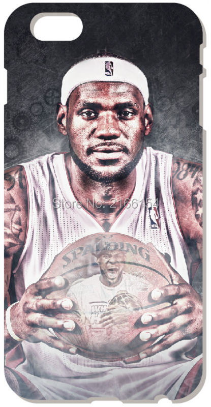 Lebron James Cover For iphone 5 5S SE 5C 6 6S 7 Plus Touch 5 6 For Samsung Galaxy S3 S4 S5 Mini S6 S7 Edge Note 3 4 5 C5 Case