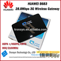 Original Unlock HSPA+ 28.8Mbps Huawei B683 3G Wireless Gateway With RJ45 Port And 3G Wireless Router