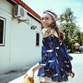[XITAO] высокое качество нового 2016 лето перо печати воланами сексуальная Ремень Шифон майки с коротким рукавом женский оборками топы, MF-030