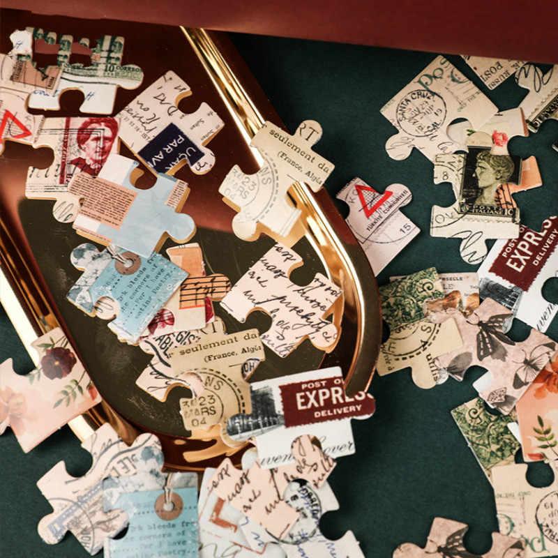 1 шт. головоломки Стикеры для гостиной ноутбук скейтборд смешанные мультфильм игрушечные наклейки стиль ноутбука путешествия багажа классные смешные наклейки