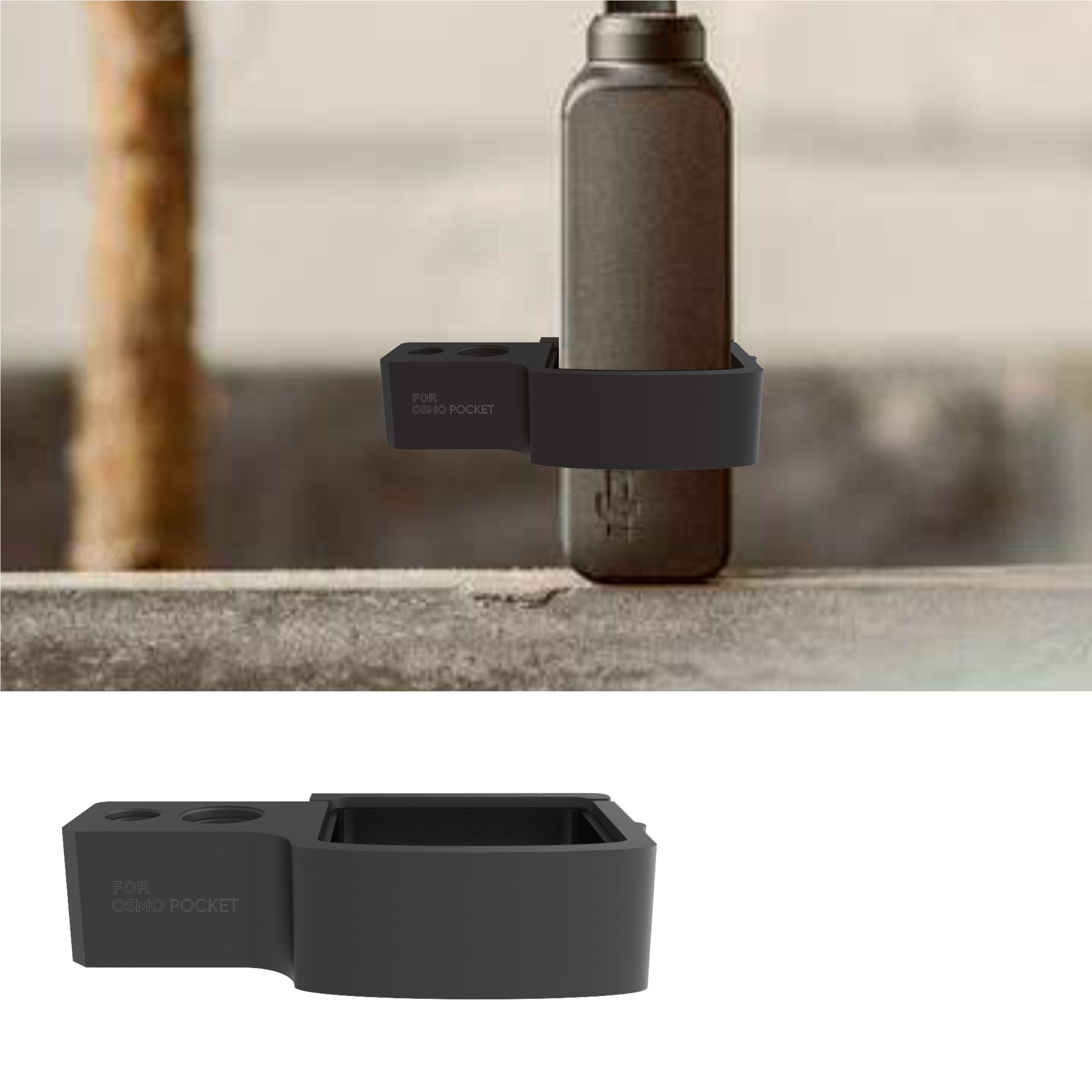 Quick-release DJI Osmo Pocket Gimbal Camera CNC Extension Module Connection DJI OSMO POCKET Expansion Adapter block Accessories 4
