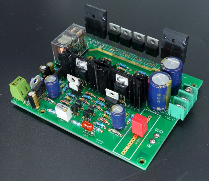 Swiss Imitate DARTZEEL 150W*2 hifi amplifier board No feedback power amplifier board 116mm * 90.5mm