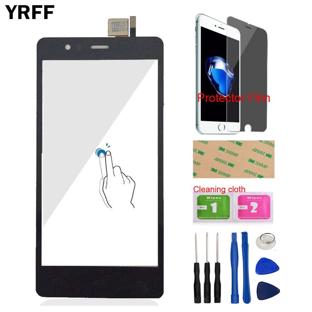 d6c8b79635d 5.0 ''Mobile Phone Front Glass For BQ Aquaris E5 4G HD FHD E5.0 Touch  Screen Digitizer