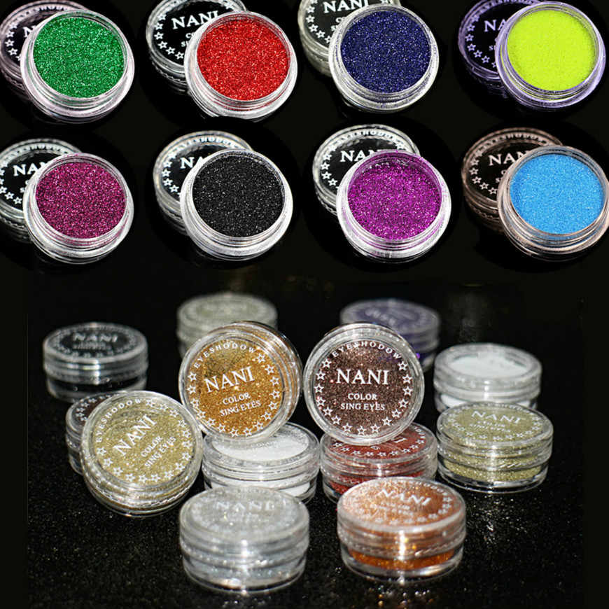 23 Colors Bar makeup Pearl Glitter Gel Facial Body Hair Eyes Lip Shiny Highlights Lasting Beauty Products Festival Make Up